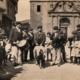 Rifa del carnero, Oviedo, 1910