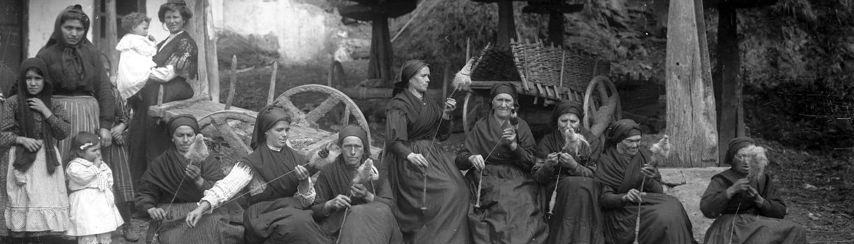 Modesto Montoto, Mujeres filando, h. 1915