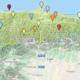 Mapa de la Red de Museos Etnográficos de Asturias