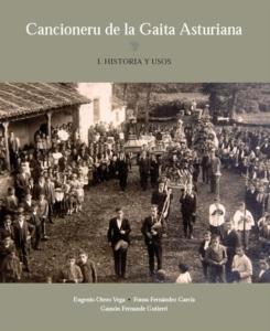 Portada del Cancioneru de la gaita asturiana
